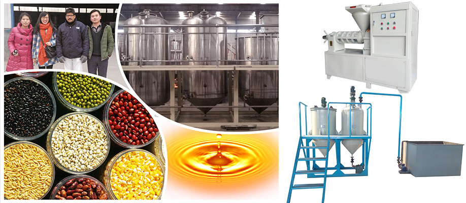 New technology plant oil extraction machine