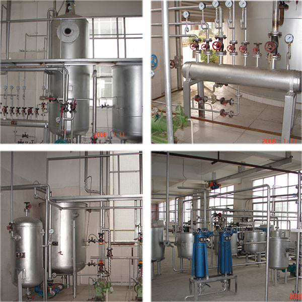 Newest technology vegetable seeds oil refinery plant
