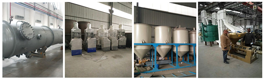 China quality equipment cotton seeds oil press equipment