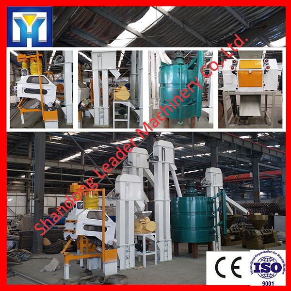 Anti rancid extruding technology rice bran extraction plant