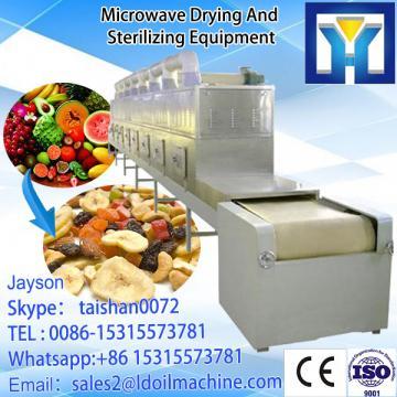 High quality microwave aloe leaf drying and sterilization machine