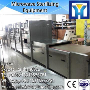 industriall microwave conveyor belt sterilizer/garlic onion powder sterilization system/rose tea sterilizing machine