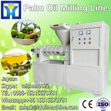 High performance machine to refine vegetable oil plant