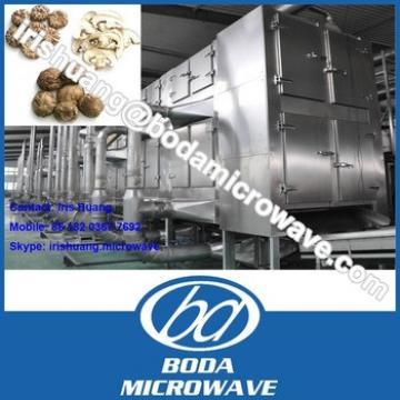 Continuous process belt type mushroom dryer machine