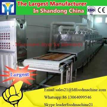 High efficient automatic tunnel conveyor microwave dryer