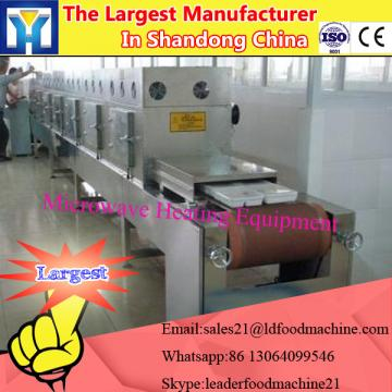 Hot sale baby milk powder microwave drying and sterilization machine
