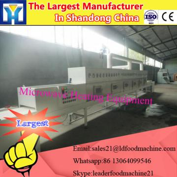 Microwave tunnel conveyor belt drying equipment