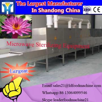 Industrial microwave hibiscus dryer