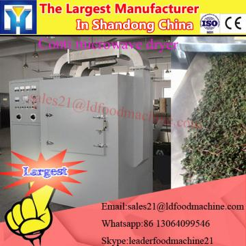 Tunnel type cabinet vegetable microwave drying machine with TEFL conveyor belt