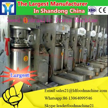Screw type soybean screw oil press