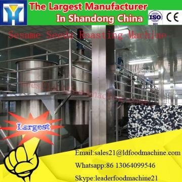 100Ton PLC control system edible rice bran oil refining machinery