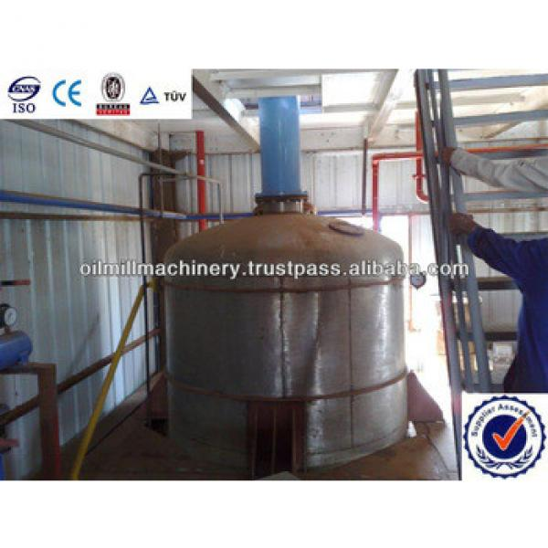10T-3000T/D Crude Sunflower Oil Refinery Plant #5 image