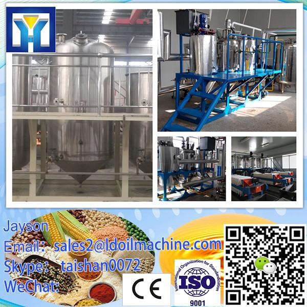 Continuous system crude sunflower seed oil refining plant with PLC control #1 image