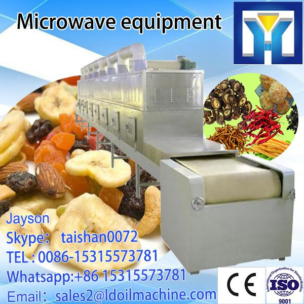 Industrial continuous microwave dryer and sterilizer oven for potato chips #1 image