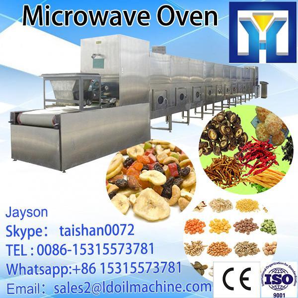 Conveyor belt type microwave fish slice dryer machine #5 image