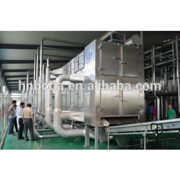 Stevia Multiple layer continuous type mesh belt dryer #1 image