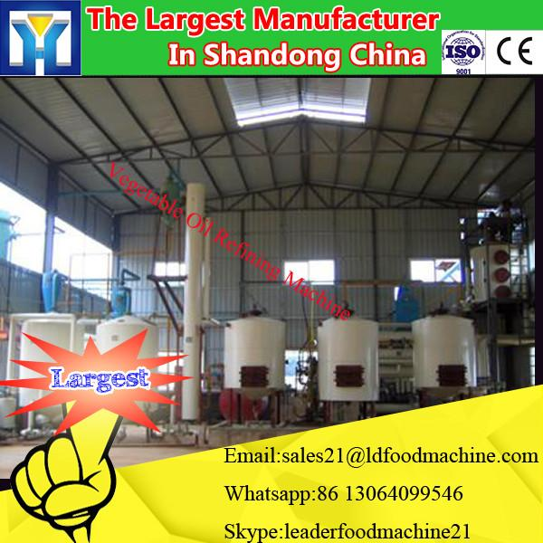 New Condition edible oil pressing equipment/Small scale cooking oil refinery machine/vegetable oil refinery plant #1 image