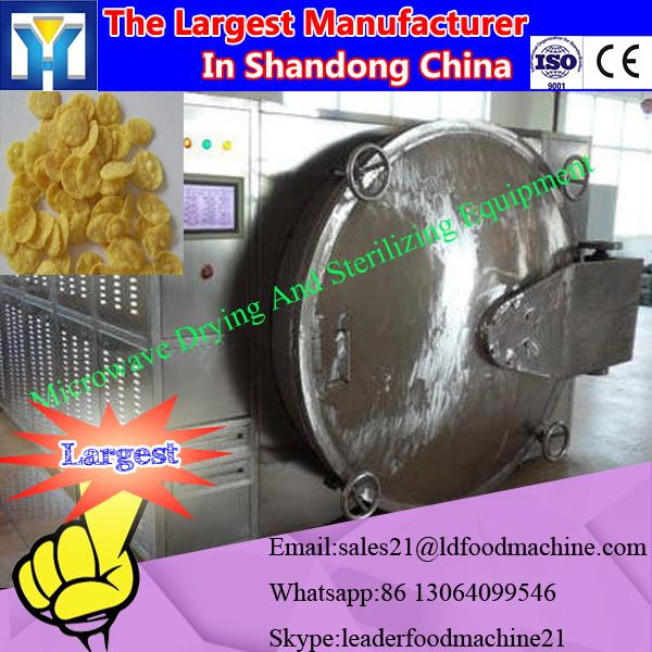Conti tunnel type microwave dryer and sterilizing machine for herb #2 image