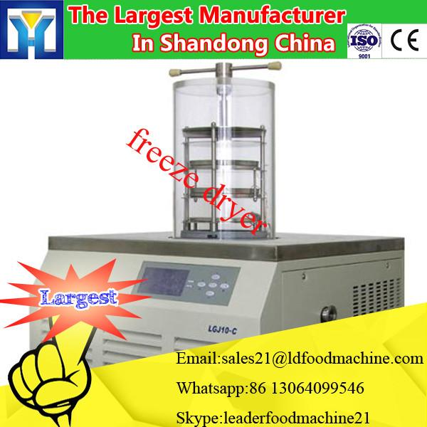 Efficient CE & ISO approved Vacuum freeze dryer with LCD display dryer machine sale for food vegetable fruit #3 image