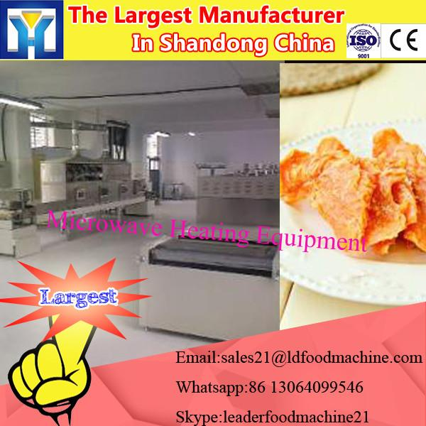 Industrial Tea Leaves/moringa leaf / herbs/flowers microwave drying Machine #3 image