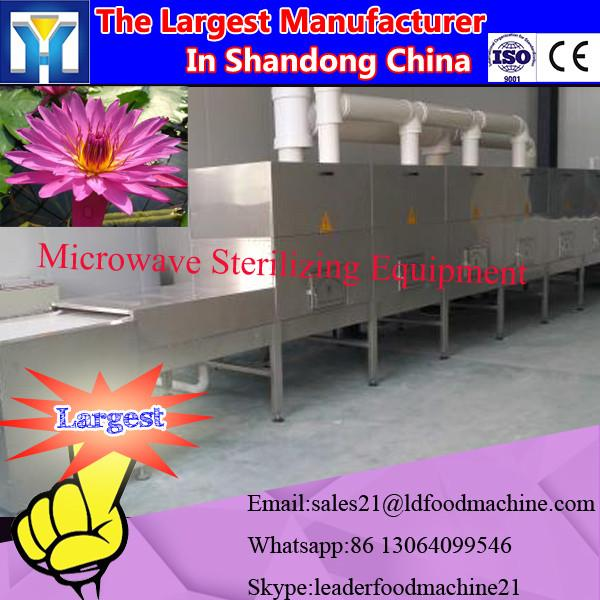 high effective microwave herbs powder drying and sterilizing equipment #1 image