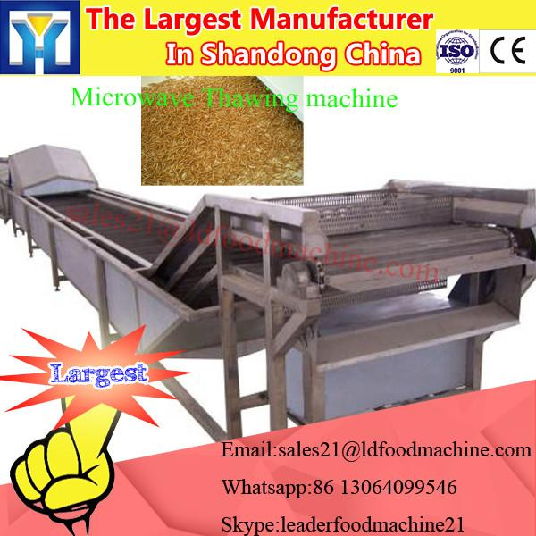 stainless steel Lentinus edodes Industrial continuous microwave drying machine #3 image