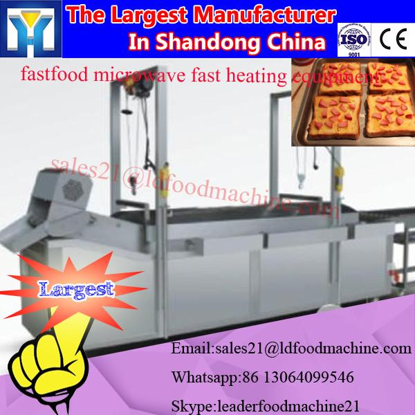 stainless steel Lentinus edodes Industrial continuous microwave drying machine #2 image