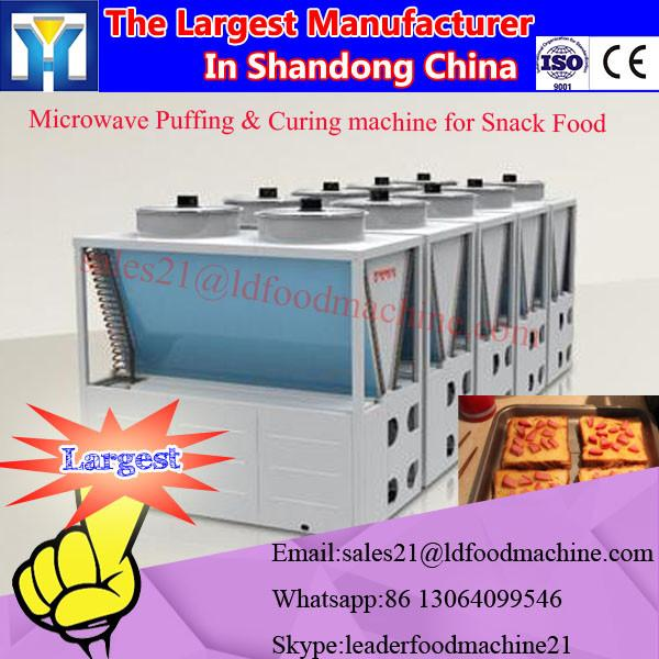 batch type vacuum industrial microwave oven #3 image