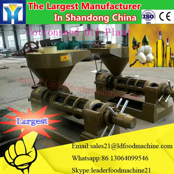 home use mini Cooking oil refinery the screw / hydraulic type peanut oil press machine #2 image