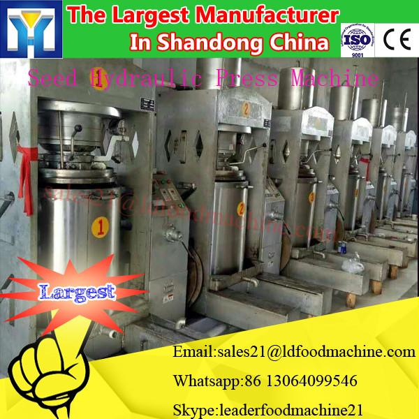 home use mini Cooking oil refinery the screw / hydraulic type peanut oil press machine #1 image