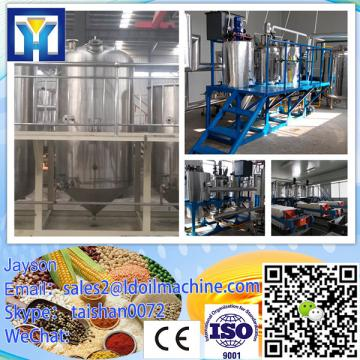 Full automatic crude peanut plant oil refinery with low consumption