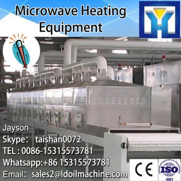 Industrial tunnel type microwave feverroot/herb dryer machine