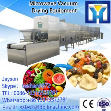 High capacity stainless steel microwave electric black tea dryer for sale