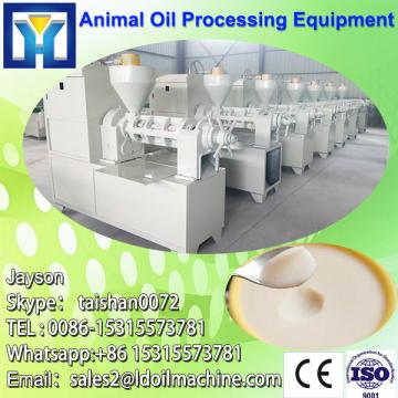 High capacity walnut oil press machine with saving energy