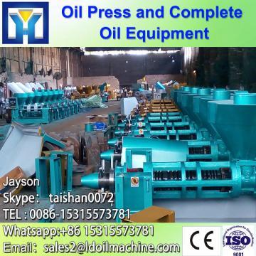 Factory supplier edible rice bran oil refining mill