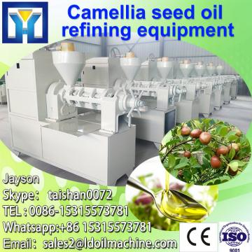 Automatic cold jojoba oil press machine