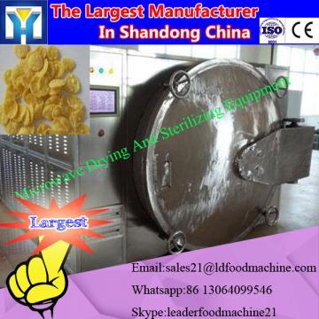 Tea leaf tunnel microwave drying machine