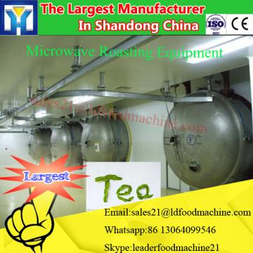 Continuous tunnel type microwave drying machine for bilberry