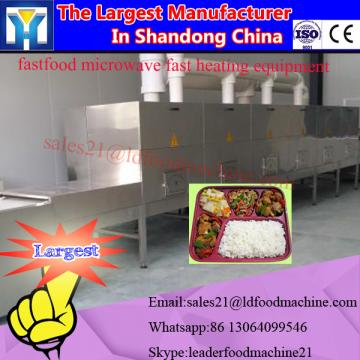 Industrial tunnel type microwave mealworm dryer & sterilizer