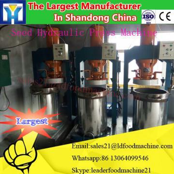 full automatic crude almond oil refining machinery