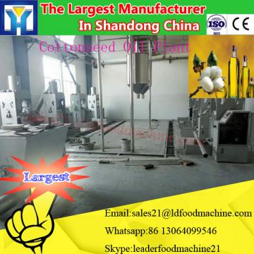 50T/D sesame/peanut oil refining machinery with semi-continuous