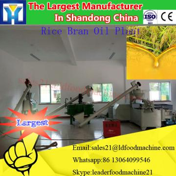 The newest technology cooking oil refinery plant