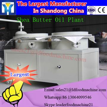 High oil yield crude edible oil refinery