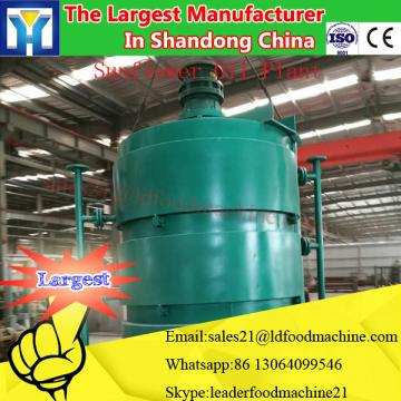 High capacity cooking oil refining equipment