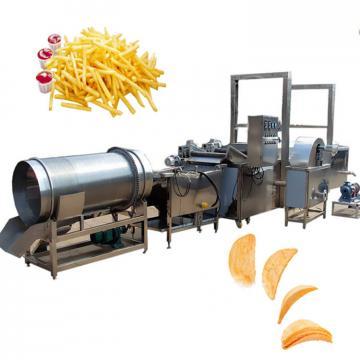 full automatic semi-automatic potato pringles chips machine production line