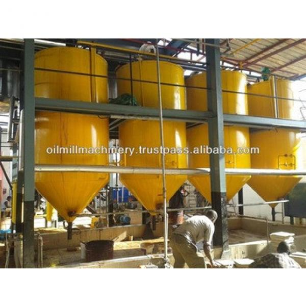 New design oil production line for palm oil refinery machine #5 image