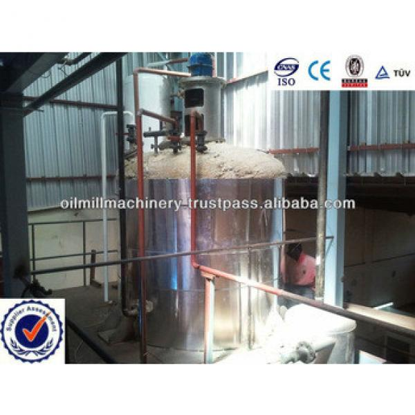 Hot sale 5-3000T/D edible palm oil refining plant for vegetable oil refinery #5 image