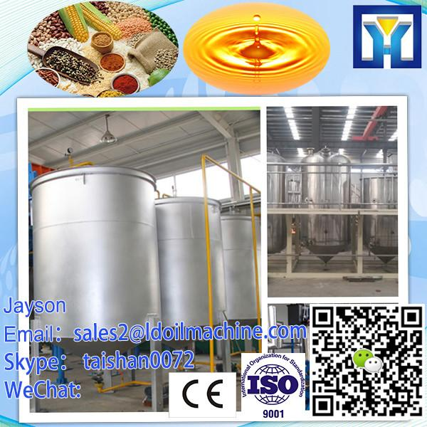 Continuous type crude peanut oil refinery equipment with low price #1 image