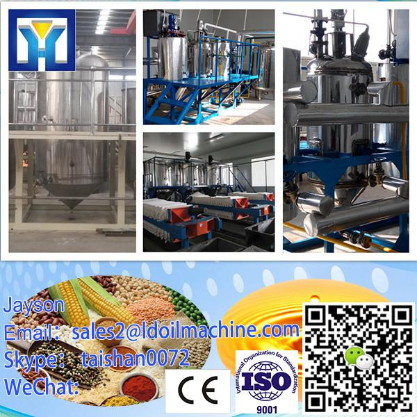 Continuous type crude peanut oil refinery equipment with low price #2 image