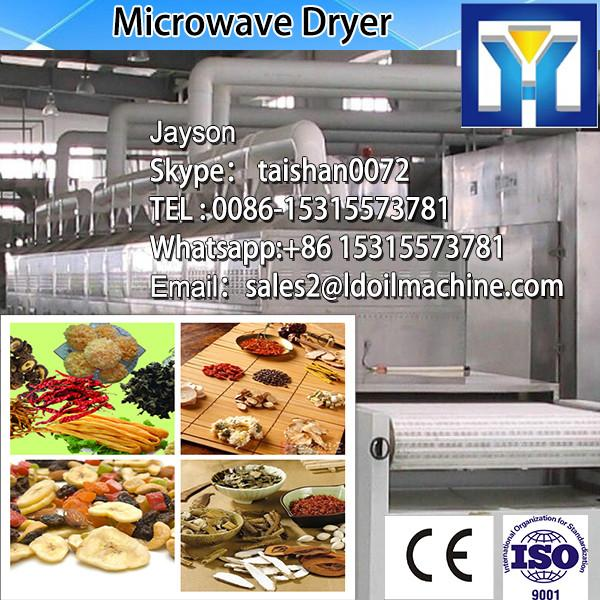 Tunnel belt microwave machine for drying and sterilizing wheat germ #1 image